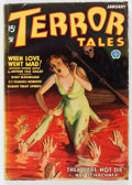Pulps:Horror, Terror Tales - January 1935 (Popular) Condition: GD/VG....