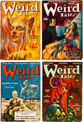 Pulps:Horror, Weird Tales Group of 13 (Popular Fiction, 1939-53) Condition:Average VG.... (Total: 13 Items)