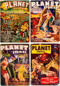 Pulps:Science Fiction, Planet Stories Group of 18 (Fiction House, 1939-53) Condition:Average VG-.... (Total: 18 Comic Books)