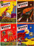 Pulps:Science Fiction, Wonder Stories Group of 15 (Standard, 1929-33) Condition: AverageGD/VG.... (Total: 15 Comic Books)