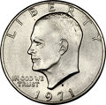 Eisenhower Dollars, 1971-S $1 Silver MS67+ PCGS. CAC....