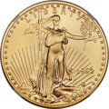 Modern Bullion Coins, 1992 $25 Half-Ounce Gold Eagle MS70 NGC....