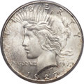 Peace Dollars, 1927-S $1 MS65 PCGS. CAC....