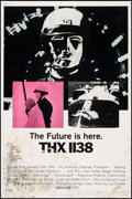 "Movie Posters:Science Fiction, THX 1138 (Warner Brothers, 1971). Poster (40"" X 60""). ScienceFiction.. ..."