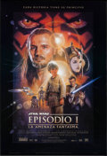 "Movie Posters:Science Fiction, Star Wars: Episode I - The Phantom Menace (20th Century Fox, 1999).Spanish Language One Sheet (27"" X 40"") DS Style B & DS A...(Total: 2 Items)"