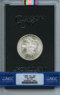 1885-CC $1 GSA MS64 NGC. Box and COA included. NGC Census: (3264/1727). PCGS Population (82/53). Mintage: 228,000. From...