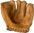 Baseball Collectibles:Others, 1950's Mickey Mantle Store Model Glove with Box. ...