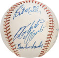 Baseball Collectibles:Balls, 1960's Roberto Clemente & Others Signed Baseball....