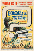 """Movie Posters:Science Fiction, Godzilla vs. the Thing (American International, 1964). Poster (40""""X 60""""). Science Fiction.. ..."""