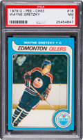 Hockey Cards:Singles (1970-Now), 1979 O-Pee-Chee Wayne Gretzky #18 PSA NM 7. ...