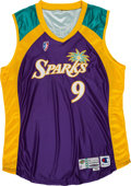 Basketball Collectibles:Uniforms, 1999-2000 Lisa Leslie Game Worn WNBA Los Angeles Sparks Jersey. ...