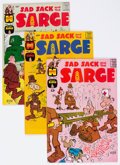 Silver Age (1956-1969):Humor, Sad Sack and the Sarge File Copies Box Lot (Harvey, 1957-82) Condition: Average NM- except as noted....