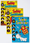 Bronze Age (1970-1979):Cartoon Character, Spooky Spooktown/Spooky Haunted House File Copies Box Lot (Harvey,1968-76) Condition: Average NM-....