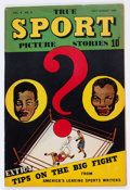 Golden Age (1938-1955):Adventure, True Sport Picture Stories V4#8 (Street & Smith, 1948)Condition: VF-....