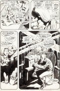 Original Comic Art:Panel Pages, Bernie Wrightson Swamp Thing #1 Story Page 9 Original Art(DC, 1972)....