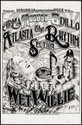 Movie Posters:Rock and Roll, The Atlanta Rhythm Section with Wet Willie & Other Lot(Armadillo World Headquarters, 1976). Armadillo Appreciation WeekCon... (Total: 2 Items)