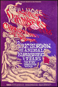 "Movie Posters:Rock and Roll, Chambers Brothers at the Fillmore West (Bill Graham, 1968). ConcertPoster #132 (14"" X 21 ""). Rock and Roll.. ..."