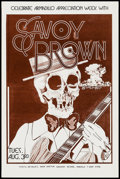 "Movie Posters:Rock and Roll, Savoy Brown at The Armadillo World Headquarters (AWH, 1976).Concert Poster (11.5"" X 17.5""). Rock and Roll.. ..."