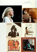 Autographs:Celebrities, Carole King Autograph and Vintage Picture Sleeve Collection. ...