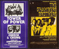 Movie Posters:Rock and Roll, Tower of Power Plus Cheech and Chong at The Fresno StateAmphitheater & Other Lot (Pacific Presentations, 1977). ConcertPos... (Total: 2 Items)