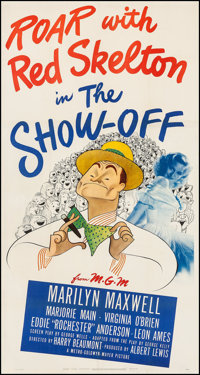 "The Show-Off (MGM, 1946). Three Sheet (41"" X 78.5""). Comedy"