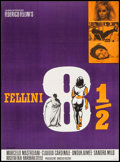 """Movie Posters:Foreign, 8½ (Columbia, 1963). Danish Poster (24.5"""" X 33.25""""). Foreign.. ..."""