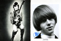 Autographs:Celebrities, [The Byrds] Roger McGuinn and Chris Hillman Autographed Photos. ...
