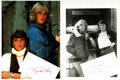 Autographs:Celebrities, [Cagney & Lacey] Sharon Gless and Tyne Daly Autographs....