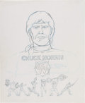 Animation Art:Concept Art, Chuck Norris: Karate Kommandos Concept Art (Ruby-Spears, 1986)....