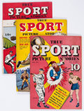 Golden Age (1938-1955):Non-Fiction, True Sport Picture Stories Group of 8 (Street & Smith, 1943-45)Condition: Average FN.... (Total: 8 Comic Books)