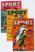 Golden Age (1938-1955):Non-Fiction, True Sport Picture Stories Group of 5 (Street & Smith, 1945-48)Condition: Average FN.... (Total: 5 Comic Books)