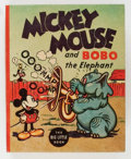 Platinum Age (1897-1937):Miscellaneous, Big Little Book #1160 Mickey Mouse (Whitman, 1935) Condition:VF+....