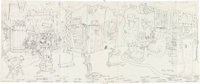 Gary Panter Pee-Wee's Playhouse Show and Toy Design Preliminary Artwork Original Art Group of 16 (1986).... (Total: 16 O...