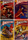 Pulps:Science Fiction, Amazing Stories Box Lot (Ziff-Davis, 1938-51) Condition: AverageVG....