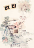 Post-War & Contemporary:Pop, Robert Rauschenberg (1925-2008). Lichen, 1972. Offsetlithograph in colors. 42 x 30 inches (106.7 x 76.2 cm) (sheet).Ed...