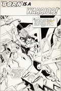 Original Comic Art:Splash Pages, Gil Kane Undersea Agent #5 Splash Page 1 Original Art(Tower, 1966)....