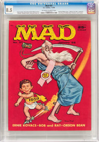 MAD #37 (EC, 1958) CGC VF+ 8.5 Off-white to white pages