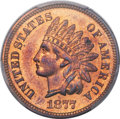 Proof Indian Cents, 1877 1C PR65+ Red and Brown PCGS....
