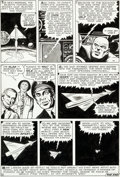 Original Comic Art:Panel Pages, Jack Kirby and Dick Ayers Strange Tales #84 Story Page 13Original Art (Marvel, 1961)....