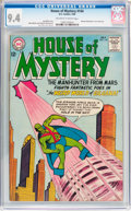 Silver Age (1956-1969):Science Fiction, House of Mystery #144 (DC, 1964) CGC NM 9.4 Off-white to whitepages....