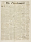 Miscellaneous:Newspaper, [Pony Express]. Newspaper: Marysville Daily Appeal. Vol. 3,No. 60. March 12, 1861....