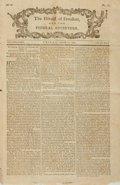 Miscellaneous:Newspaper, [French Revolution] Newspaper: The Herald of Freedom Vol. 3,No. 4. September 25, 1789....