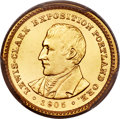 Commemorative Gold, 1905 G$1 Lewis and Clark Gold Dollar MS64+ PCGS. CAC....