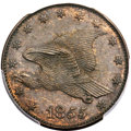 Patterns, 1855 P1C Flying Eagle Cent, Judd-173, Pollock-198, Low R.7, PR63 Brown PCGS....