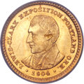 Commemorative Gold, 1904 G$1 Lewis and Clark Gold Dollar MS65 PCGS....