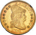 Early Eagles, 1799 $10 Small Obverse Stars, BD-2, High R.5 -- Obverse Damage -- NGC Details. AU....