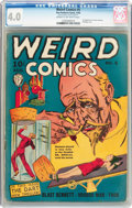 Golden Age (1938-1955):Horror, Weird Comics #5 (Fox Features Syndicate, 1940) CGC VG 4.0 Cream tooff-white pages....