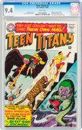 Bronze Age (1970-1979):Superhero, Teen Titans #1 (DC, 1966) CGC NM 9.4 White pages....