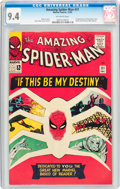 Silver Age (1956-1969):Superhero, The Amazing Spider-Man #31 (Marvel, 1965) CGC NM 9.4 Off-whitepages....