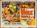"Movie Posters:Science Fiction, The Mole People (Universal International, 1956). Half Sheet (22"" X28"") Style A. Science Fiction.. ..."